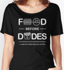 Official Chris Crocker - Food Before Dudes Shirt Women's Relaxed Fit T-Shirt