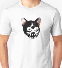 Crazy Psycho Weird Cat t shirt T-Shirt