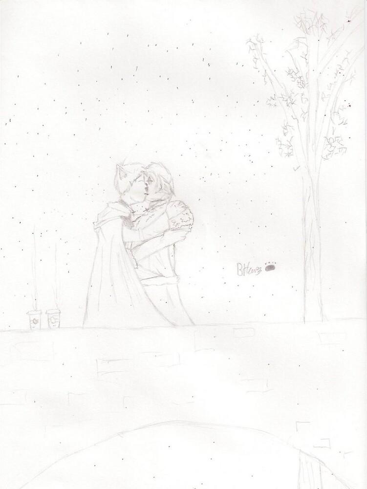 Winter kiss by copycat0669