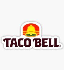 Retro Taco Bell Sticker