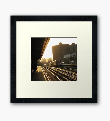 Bronx Subway, New York City  Framed Print