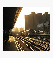 Bronx Subway, New York City  Photographic Print