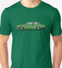 Volvo 242 Brick Coupe 200 Series Green T-Shirt