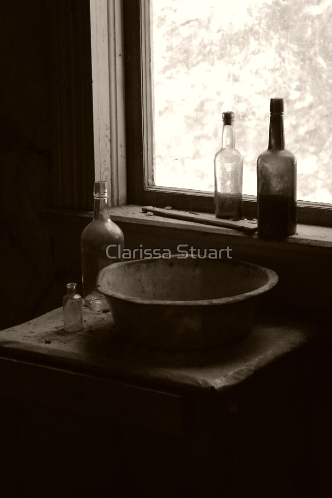 Battered Basin by Clarissa Stuart