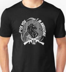 Badass Unicorn Unisex T-Shirt