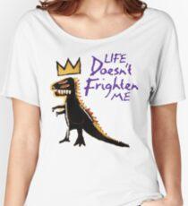 Jean Michel Basquiat Dinosaur Tee Women's Relaxed Fit T-Shirt