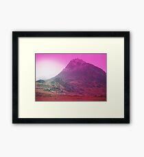 Snowdonia in Winter (Expired Film) Framed Print