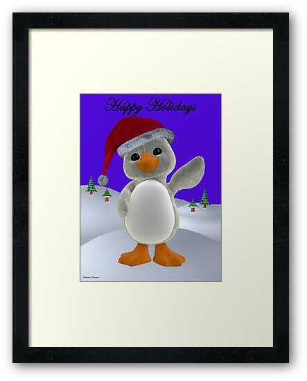 Holiday Penguin by Catherine Crimmins