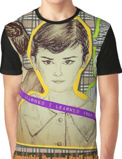 (Icon - Audrey Hepburn) - yks by ofs珊 Graphic T-Shirt