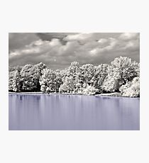 House On The Lake  Photographic Print