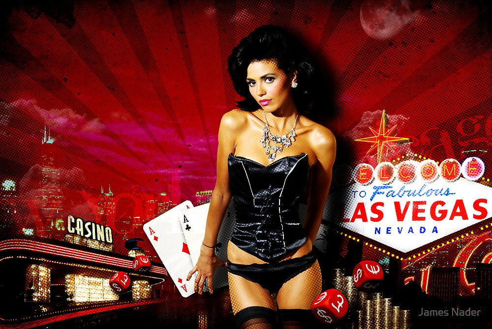Vegas Night Out by James Nader