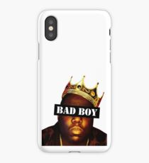 Biggie smalls (bad boy) iPhone Case/Skin