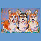 The Three Amigos by TraceyMackieArt