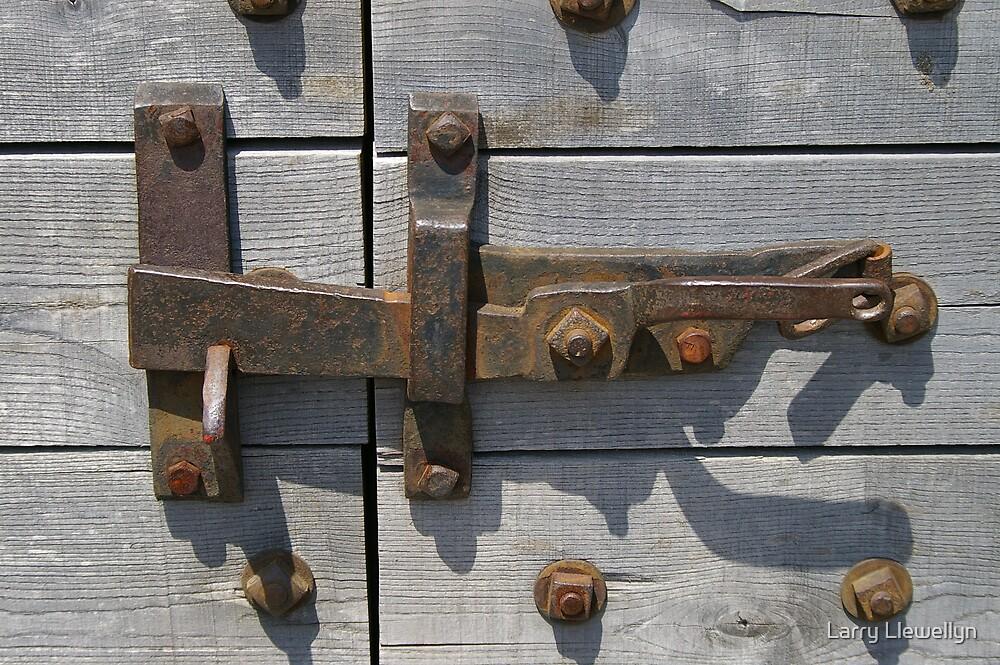 A Rustic Latch by Larry Llewellyn