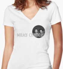 Milky Chance Women's Fitted V-Neck T-Shirt