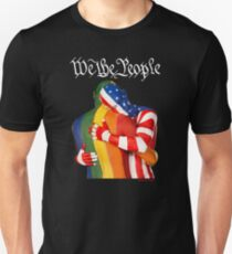 We The People (to print on dark colors) Unisex T-Shirt
