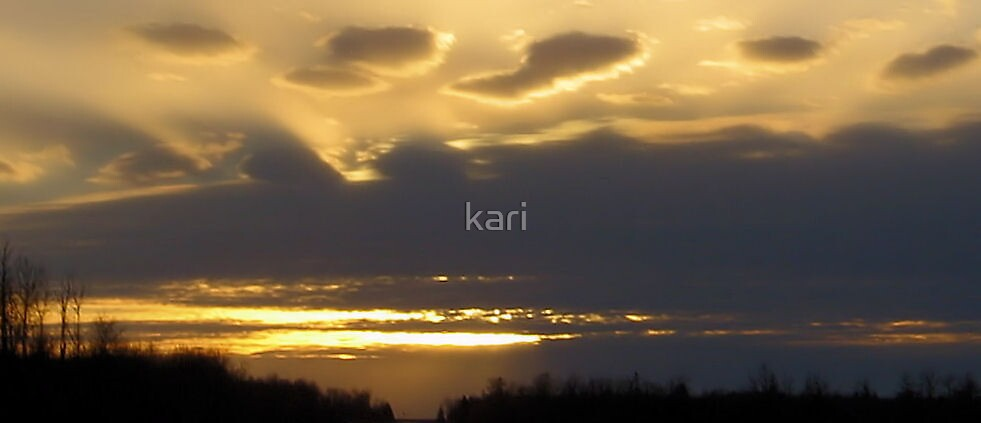 Bursts of Light by kari