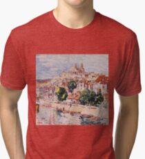 George Benjamin Luks - Verdun, France Tri-blend T-Shirt