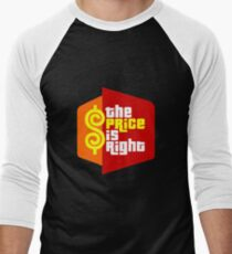 The Price is Right Men's Baseball ¾ T-Shirt
