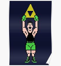 Little Mac Gets The Tri Force Poster
