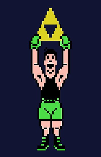 Little Mac Gets The Tri Force by idaspark