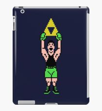 Little Mac Gets The Tri Force iPad Case/Skin