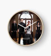 Skillet Band Clock