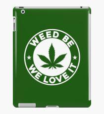we love it iPad Case/Skin