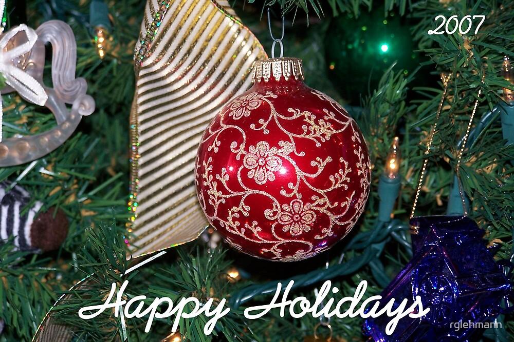 Happy Holidays by rglehmann