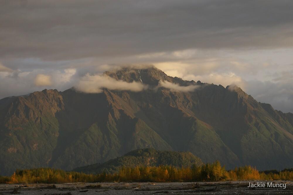 Sunset on Pioneer Peak by Jackie Muncy
