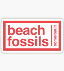 beach fossils somersault sticker Sticker