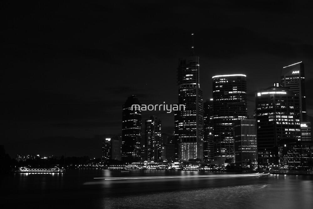 Brisbane City-02 by maorriyan
