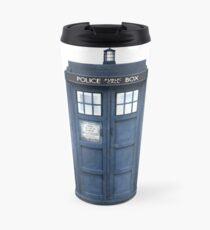 Tardis Blue - The Police Box Travel Mug