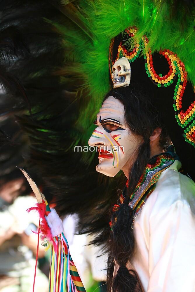 Man in Mask by maorriyan