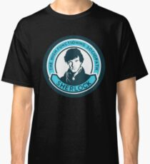 Sherlock Holmes. The high-functioning sociopath. Classic T-Shirt
