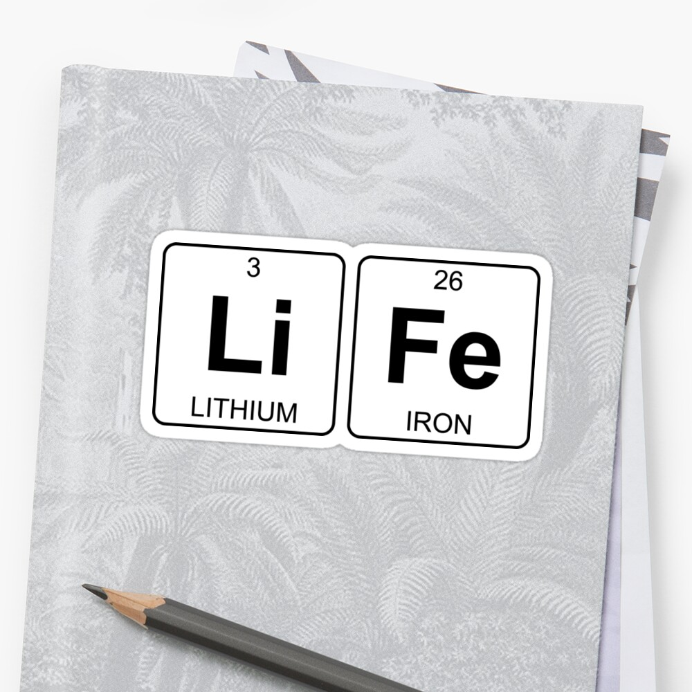Periodic table li choice image periodic table images li fe life periodic table chemistry stickers by jenny zhang li fe life periodic table chemistry gamestrikefo Image collections