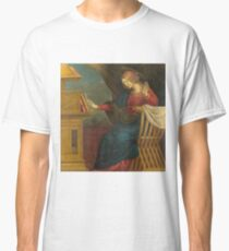 Gaudenzio Ferrari - The Annunciation - The Virgin Mary Classic T-Shirt