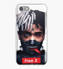 x tongue iPhone Case/Skin
