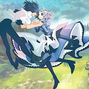 HOWL'S MOVING CASTLE - Howl and Sophie by Skelozard