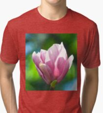 Pink Magnolia Tri-blend T-Shirt