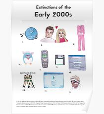 Extinctions of the 2000s Poster