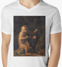 George Stubbs - A Monkey (1799) T-Shirt