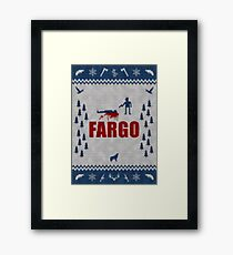 Fargo - Minimal Alternative Movie / TV series Poster Framed Print