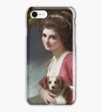 George Romney - Lady Hamilton As Nature iPhone Case/Skin