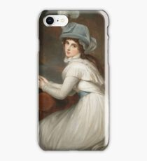 George Romney - Lady Hamilton iPhone Case/Skin