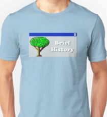 Title Card - Brief History T-Shirt