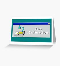 Title Card - The Animation Greeting Card
