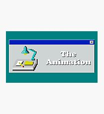 Title Card - The Animation Photographic Print