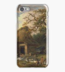 George Morland - The Old Water Mill 1790 iPhone Case/Skin