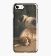 George Morland - Setters Between 1798 And 1799 iPhone Case/Skin